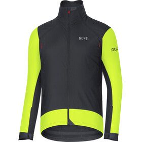 GORE WEAR C7 Windstopper Pro Jacket Men black/neon yellow